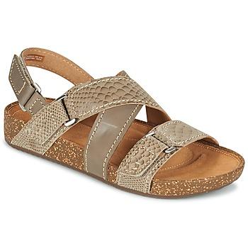 鞋子 女士 凉鞋 Clarks 其乐 ROSILLA ESSEX 棕色