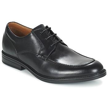 鞋子 男士 德比 Clarks 其乐 BECKFIELDAPRON 黑色