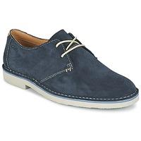 鞋子 男士 德比 Clarks 其乐 JARETH WALK 蓝色