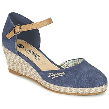 鞋子 女士 凉鞋 Dockers by Gerli AFINOUDE 蓝色