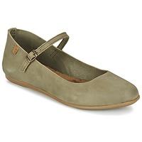 鞋子 女士 平底鞋 El Naturalista STELLA 灰色 / 卡其色