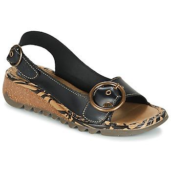 鞋子 女士 涼鞋 Fly London TRAMFLY 黑色