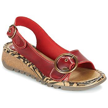 鞋子 女士 凉鞋 Fly London TRAMFLY 红色