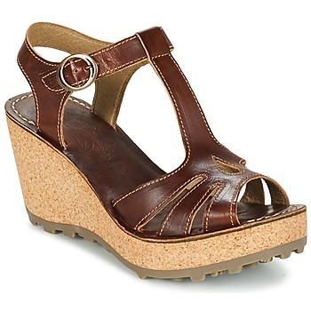 鞋子 女士 凉鞋 Fly London GOLDY 棕色