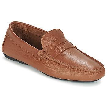 鞋子 男士 皮便鞋 Heyraud ELIOTT 棕色