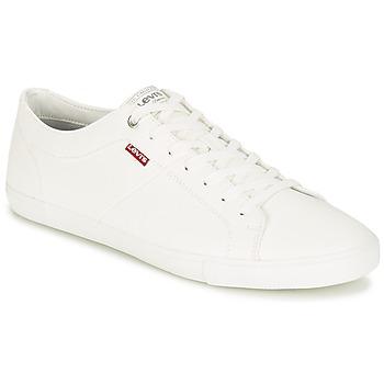 鞋子 男士 球鞋基本款 Levi's 李维斯 WOODS 白色