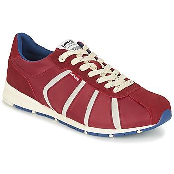 鞋子 男士 球鞋基本款 Levi's 李维斯 ALMAYER II 红色