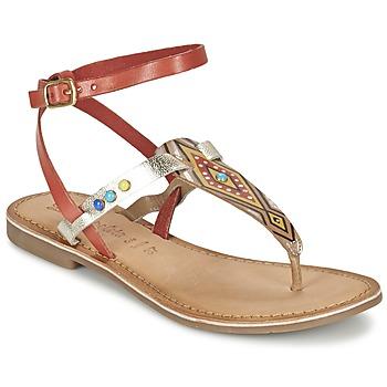 鞋子 女士 凉鞋 Lola Espeleta ELODIE 红色 / 银灰色
