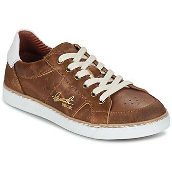 鞋子 男孩 球鞋基本款 Bullboxer AJIMET 棕色