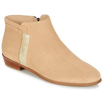 鞋子 女士 短筒靴 M. Moustache EMMANUELLE 米色 / 金色