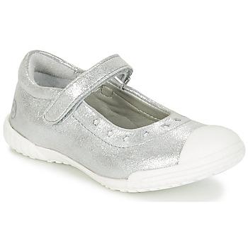 鞋子 女孩 平底鞋 Mod'8 PRISCA 银灰色