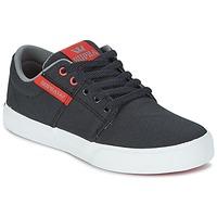鞋子 儿童 球鞋基本款 Supra KIDS STACKS II VULC 黑色 / 红色