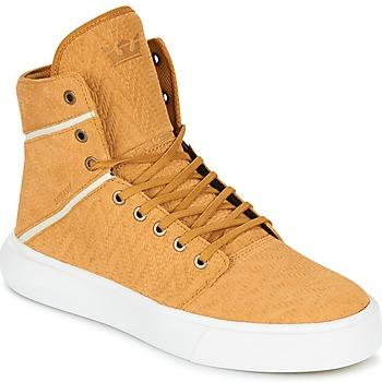 鞋子 男士 高帮鞋 Supra CAMINO 黄色