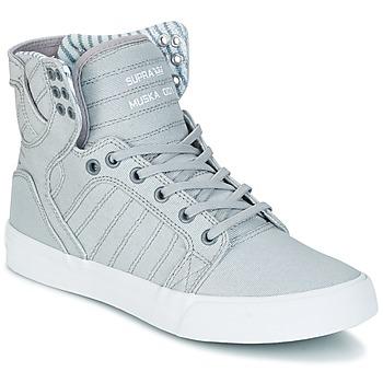 鞋子 高帮鞋 Supra SKYTOP 灰色