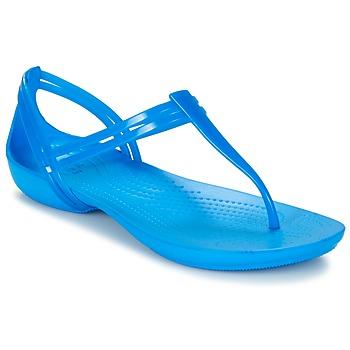 鞋子 女士 凉鞋 crocs 卡骆驰 CROCS ISABELLA T-strap 蓝色
