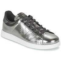 鞋子 女士 球鞋基本款 Victoria 维多利亚 DEPORTIVO BASKET METALLISE 银灰色