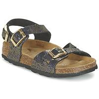 鞋子 女孩 凉鞋 Betula JEAN 黑色 / 金色