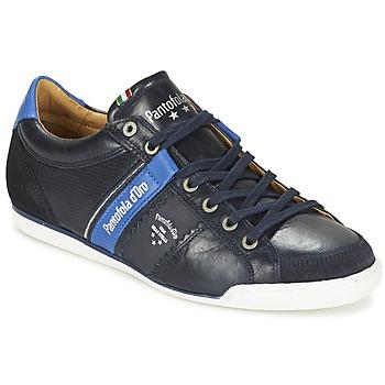 鞋子 男士 球鞋基本款 Pantofola d'oro SAVIO ROMAGNA UOMO LOW 蓝色