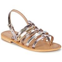鞋子 女士 凉鞋 Les Tropéziennes par M Belarbi HERISSON 银色 / 多彩