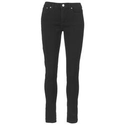 衣服 女士 牛仔铅笔裤 Michael by Michael Kors DNM SELMA SKINNY 黑色