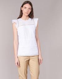 衣服 女士 女士上衣/罩衫 Michael by Michael Kors COMBO EYELET S/S 白色