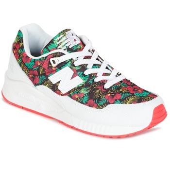 鞋子 女士 球鞋基本款 New Balance新百伦 W530 绿色 / 红色