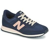 鞋子 女士 球鞋基本款 New Balance新百伦 CW620 海蓝色
