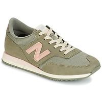 鞋子 女士 球鞋基本款 New Balance新百伦 CW620 卡其色