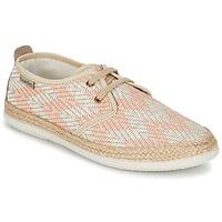 鞋子 女士 球鞋基本款 Bamba By Victoria BLUCHER TEJIDO ZIG-ZAG Saumon