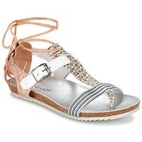 鞋子 女士 凉鞋 Regard RABALU 白色 / 米色 / 蛇纹