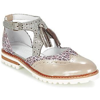 鞋子 女士 德比 Regard ROAXO 米色 / 银灰色