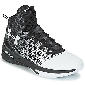鞋子 男士 篮球 Under Armor UA ClutchFit Drive 3 黑色 / 白色