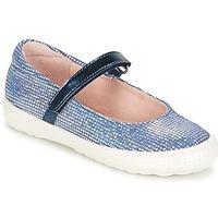 鞋子 女孩 平底鞋 Acebo's SIULO 海藍色