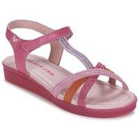 鞋子 女孩 凉鞋 Agatha Ruiz de la Prada 阿嘉莎·鲁兹·德 BINETTE 玫瑰色