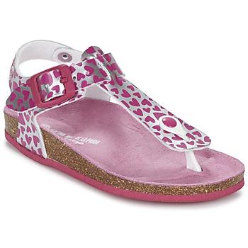 鞋子 女孩 凉鞋 Agatha Ruiz de la Prada 阿嘉莎·鲁兹·德 BOUDOU 玫瑰色