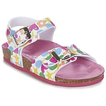 鞋子 女孩 凉鞋 Agatha Ruiz de la Prada 阿嘉莎·鲁兹·德 BIDOU 多彩