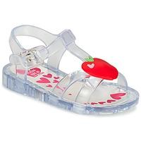 鞋子 女孩 凉鞋 Agatha Ruiz de la Prada 阿嘉莎·鲁兹·德 BOULINETTE 白色