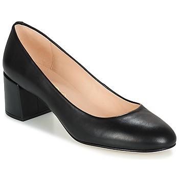 鞋子 女士 高跟鞋 Unisa KERMES 黑色