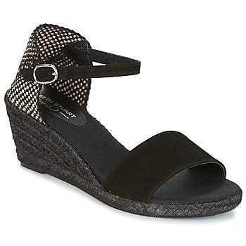 鞋子 女士 帆布便鞋 Elizabeth Stuart TREVISE 黑色