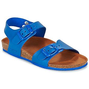 鞋子 男孩 凉鞋 Garvalin SOULI 蓝色