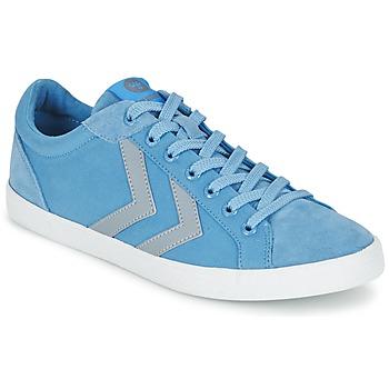 鞋子 球鞋基本款 Hummel DEUCE COURT SUMMER 蓝色 / 灰色