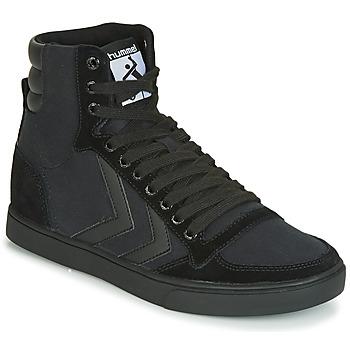 鞋子 男士 高帮鞋 Hummel TEN STAR TONAL HIGH 黑色