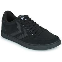 鞋子 男士 球鞋基本款 Hummel TEN STAR TONAL LOW 黑色