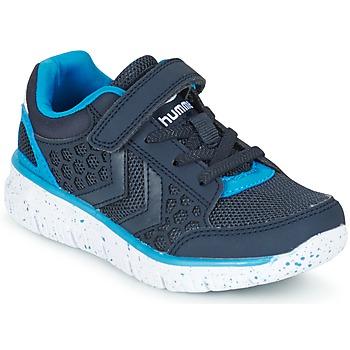 鞋子 儿童 球鞋基本款 Hummel CROSSLITE JR 海蓝色