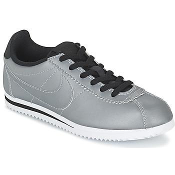 鞋子 男孩 球鞋基本款 Nike 耐克 CORTEZ PREMIUM JUNIOR 灰色