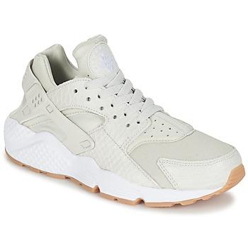 鞋子 女士 球鞋基本款 Nike 耐克 AIR HUARACHE RUN SE W 灰色