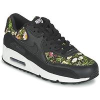 鞋子 女士 球鞋基本款 Nike 耐克 AIR MAX 90 SE W 黑色
