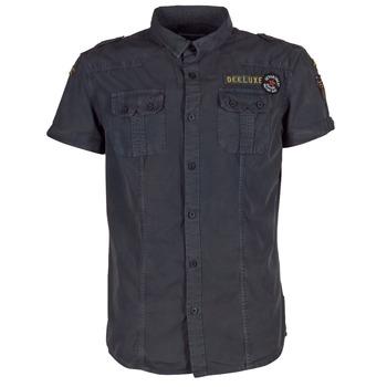 衣服 男士 短袖衬衫 Deeluxe BURTY 灰色