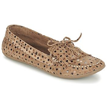 鞋子 女士 皮便鞋 Ippon Vintage MOC POINTS 灰褐色