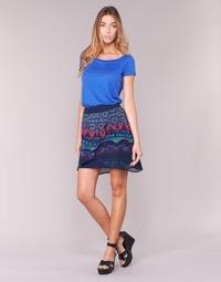 衣服 女士 半身裙 Desigual RASSENIO 海蓝色